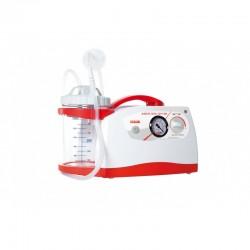 Aspirateur à mucosités Ca-mi New Askir 230/12V BR, bocal polycarbonate 1000 ml, 16 l / mn