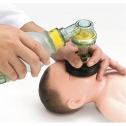Mannequin entraînement réanimation et intubation nouveau né