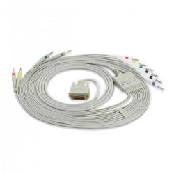 Edan câble patient pour électrodes UU pour ECG SE1010 Edan
