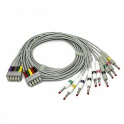 Edan câble ECG fiche banane pour SE-301