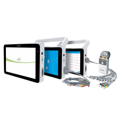 Edan ECG ISE sur tablette tactile avec imprimante
