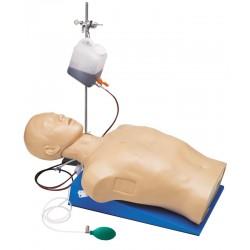 Mannequin d'entraînement trauma thoracique