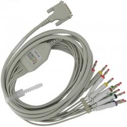 Câble patient ECG -...