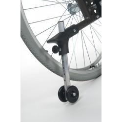 Roulette anti-bascule avec basculeur