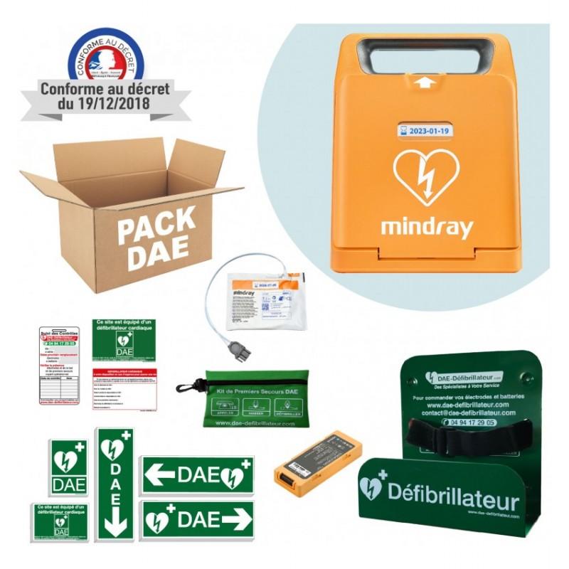 Pack défibrillateur Mindray Beneheart C1A Support intérieur