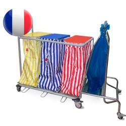 Option collecteur support sac à déchets