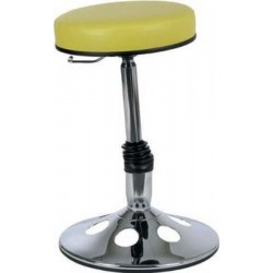Tabouret oscillant sur socle assise confort