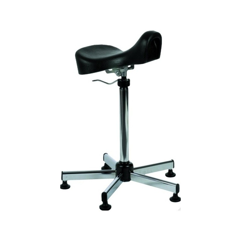 TABOURET AVEC SELLE ERGONOMIQUE INCLINABLE