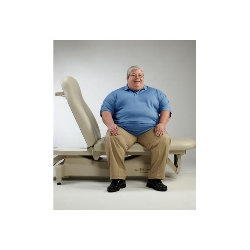 table d 39 examen lectrique pour ob se ritter 244 bariatrique. Black Bedroom Furniture Sets. Home Design Ideas