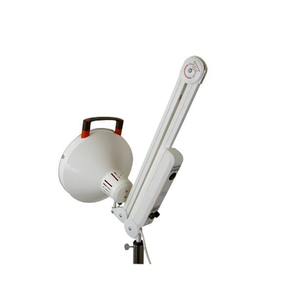 Lampe infrarouge sur pied lest for Lampe sur pied but