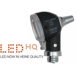 TETE D'OTOSCOPE HEINE MINI 3000 LED A FIBRE OPTIQUE