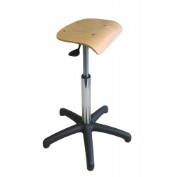 Tabouret médical assis debout hauteur variable