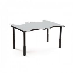 TABLE ERGO À HAUTEUR VARIABLE 4 PLACES