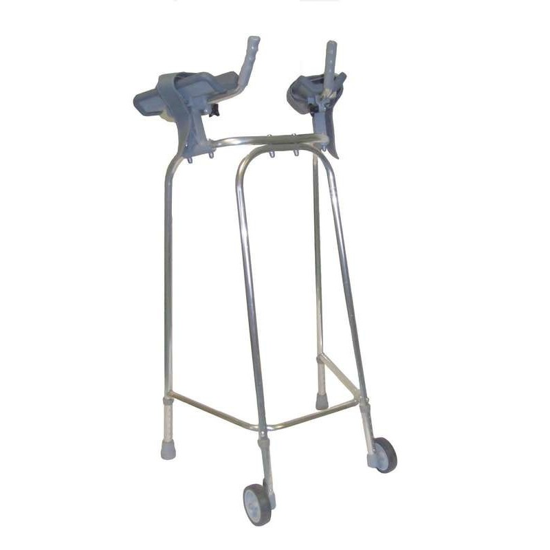 Cadre roulant + supports bras 83cm
