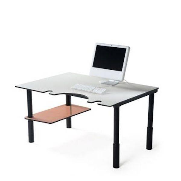 poste de travail ergonomique. Black Bedroom Furniture Sets. Home Design Ideas
