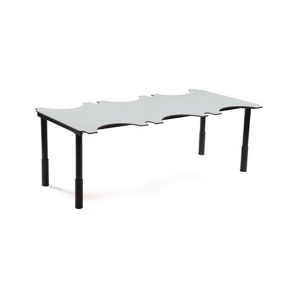 table ergonomique 6 places. Black Bedroom Furniture Sets. Home Design Ideas